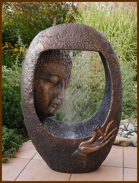 Buddha Brunnen Outdoor by Brunnen Wasserwand Buddha M 90 Cm Ho Mit Led Licht