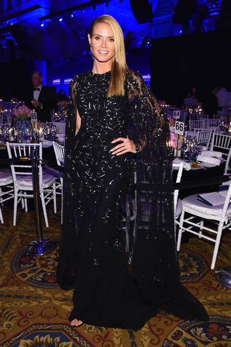 Heidi Klum Amfar New York Gala City