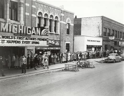 michigan arbor ann university theater historical library history detroit theatre