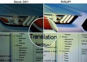 RiftUP! Virtual-Reality in FullHD für Oculus Rift DK1 .. # ...