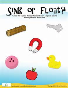 floating and sinking worksheet education com