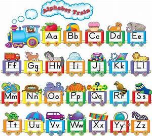 Decorative Bulletin Boards Alphabet Train Border Alphabet
