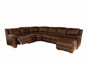 Natuzzi reclining leather sectional sofa a319 natuzzi for Natuzzi reclining sectional sofa