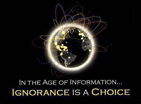 Ignorance Is Not Bliss…  You Think You Know