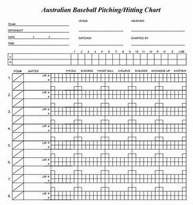 Sample pitching charts 7 free documents in pdf for Baseball pitching chart template