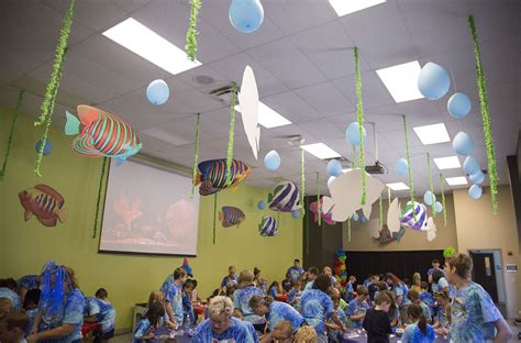 Fun Ceiling Decorations For Ocean Commotion Vbs Vbs2019
