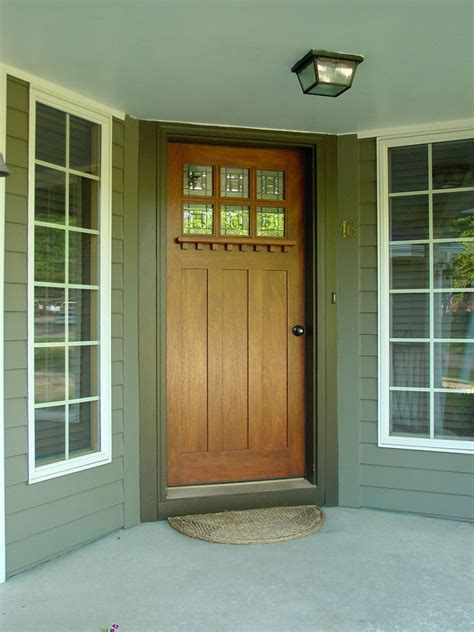 Style Doors by Hints On Buying Craftsman Style Entry Doors Interior