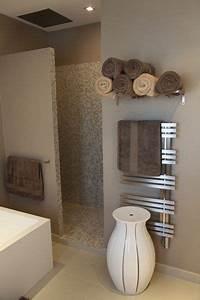 salle de bains zen bagno pinterest portes With porte d entrée alu avec etagere au dessus lavabo salle de bain