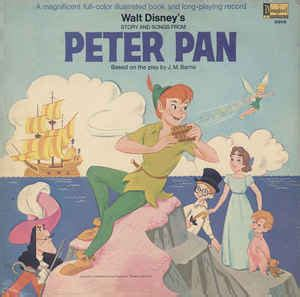 walt disney s story and songs from pan vinyl lp mono reissue discogs
