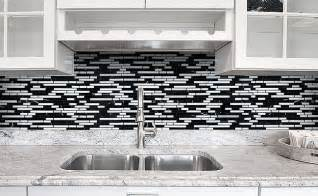 backsplash for black and white kitchen black gray and white backsplash tile backsplash kitchen backsplash products ideas
