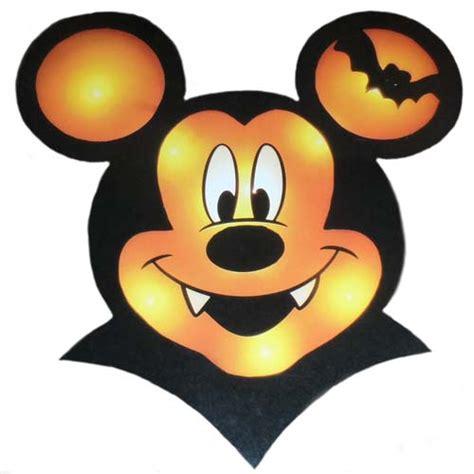 Disney Halloween Decoration  Mickey Mouse Vampire Window