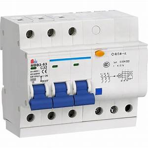 Meba Residual Current Circuit Breaker With Overload