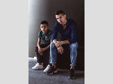 Cristiano Ronaldo traz seu filho para estrelar nova