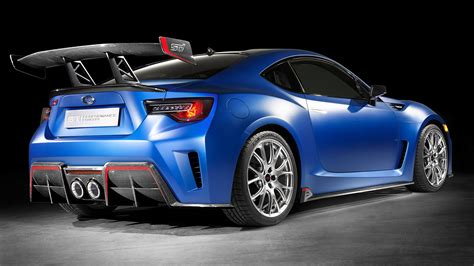 subaru brz sti performance concept  wallpapers