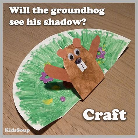 groundhog day preschool  kindergarten activities kidssoup