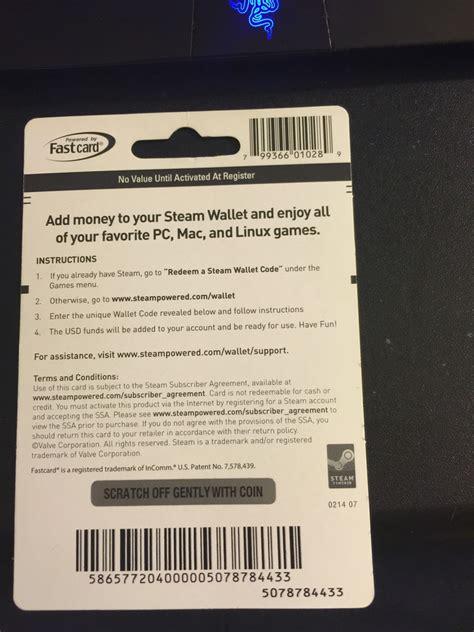 steam  dollar gift card code
