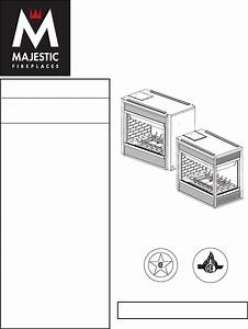 Majestic Appliances Indoor Fireplace 360dvs2 User Guide