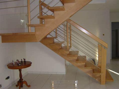 escalier quart tournant avec palier repos