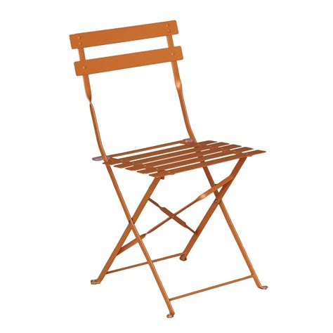 chaise jardin leroy merlin chaise de jardin en acier flore orange leroy merlin