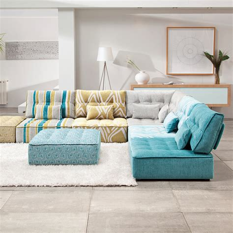 canapé sous fenetre le canapé modulaire bas salon inspirations