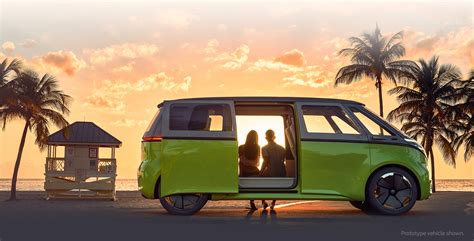 The Vw Bus Is Back, And It's Electric