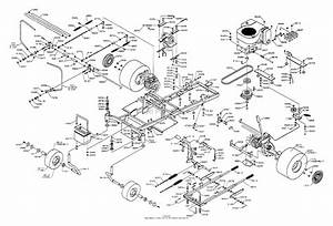 Dixon Ztr 5017  1999  Parts Diagram For Chassis