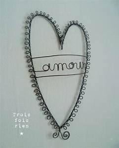 Fil De Fer Recuit : coeur fil de fer recuit amour 1 photo de fil de fer ~ Dailycaller-alerts.com Idées de Décoration
