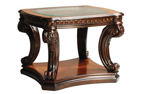 Old World End Table At Gardner-white