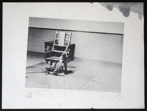 electric chair from retrospective series by andy warhol