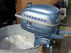 1952 Evinrude Lightwin 3hp  Carb Adjustment   U2013 Antique
