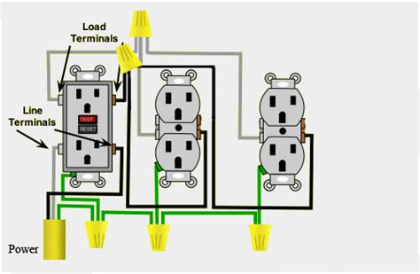 Wiring Gfci Outlet In Series by I M Trying To Add Get Additional Power To An Outside