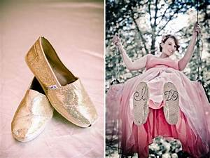real wedding keven pieters whimsical fairytale wedding With wedding dress with toms shoes