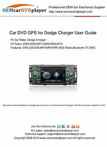 Car Dvd Gps For Dodge Charger User Guide