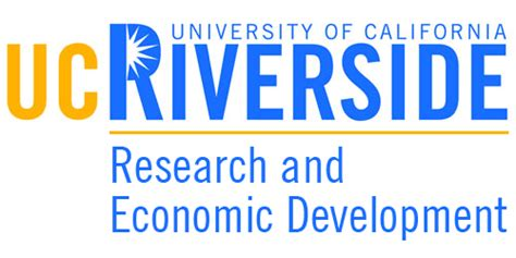 research and economic development ucr