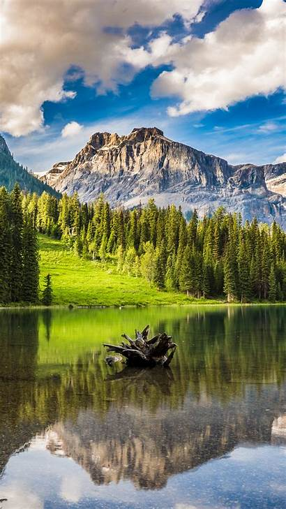 Iphone Nature 4k Plus Banff Park Lake