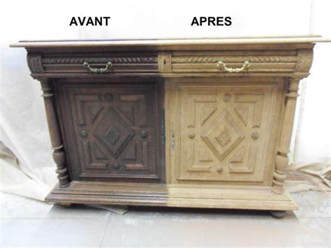 peindre placard cuisine décapage meuble deux portes avec tiroirs rustiques