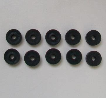 Small 3 8 inch Tap Valve Rubber Washer   Pack of 10