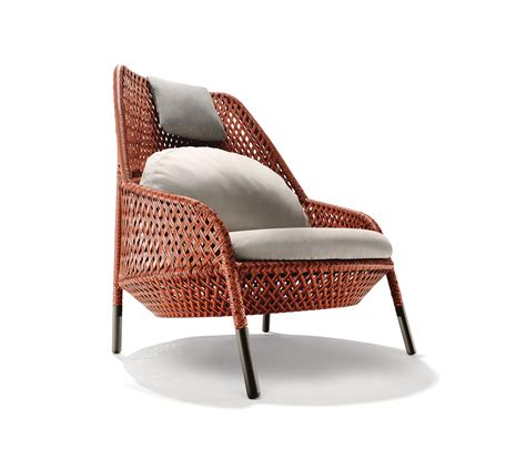 ahnda wing chair garden armchairs from dedon architonic