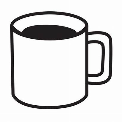 Coffee Cup Mug Clipart Drawing Cool Stamp