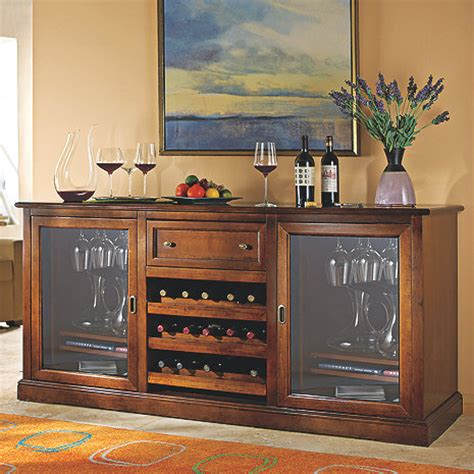 siena wine credenza wine enthusiast