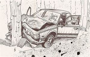 How To Draw An Accident Scene Diagram Step By Step Easy