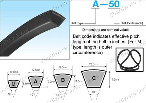 1989 3.7l V Belt Angle