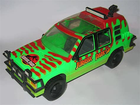 jurassic park car toy this van was a huge part of my childhood pics