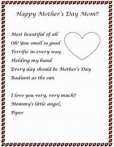 Mothers Day Letter Ideas 2014 For Letter Ideas For