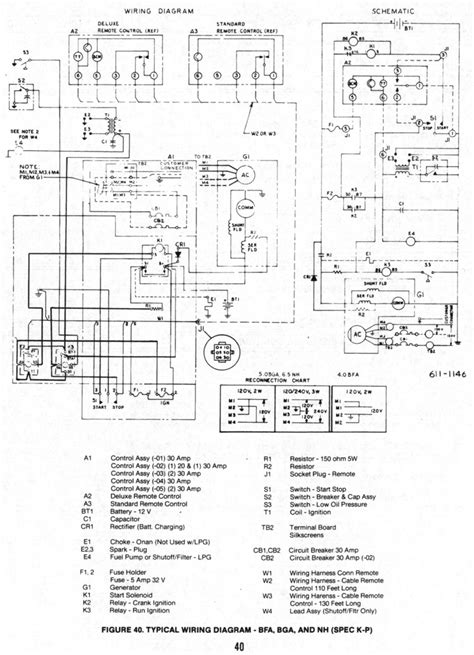 wiring diagram onan generator wiring diagram onan parts