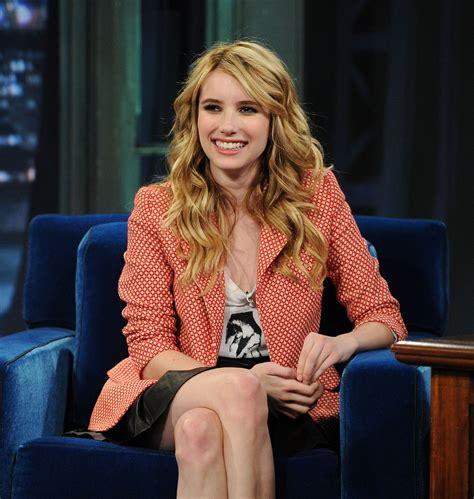 Emma Roberts Long Curls - Emma Roberts Looks - StyleBistro