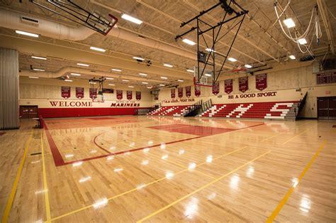 narragansett high school gymnasium martone