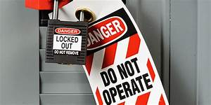 Lockout Vs Electrical Work Practices  Understanding The Difference