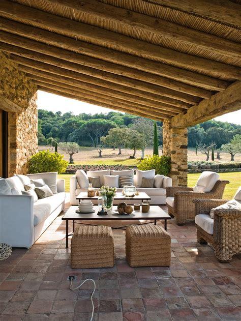 rustic outdoor living terrace beautiful rustic outdoor living space el mueble quincho pinterest rustic