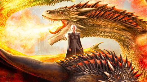 mother  dragons artwork hd tv shows  wallpapers